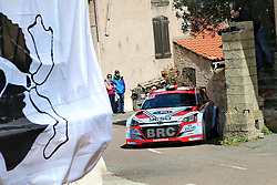 April 7, 2018 - Corse, France - CORSICA Linea - TOUR DE CORSE 2018 Pierre Louis LOUBET, Vincent LANDAIS HYUNDAI  i20 R5 (Credit Image: © Panoramic via ZUMA Press)