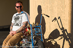 Bobby Seeger Jr at Willie's Tropical Tattoo annual Old School Bike Show during Daytona Bike Week. FL, USA. March 13, 2014.  Photography ©2014 Michael Lichter.