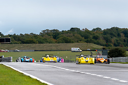 Dave Hodkin in action while competing in the 750 Motor Club's 750 Formula Championship. Picture taken at Snetterton on October 17/18, 2020 by 750 Motor Club's photographer Jonathan Elsey