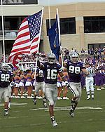at Bill Snyder Family Stadium in Manhattan, Kansas, September 2, 2006.  The Wildcats beat the Redbirds 24-23.