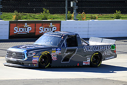 March 23, 2019 - Martinsville, VA, U.S. - MARTINSVILLE, VA - MARCH 23:   #7: Korbin Forrister, All Out Motorsports Toyota Tundra Sparrow Ranch during qualifying for the NASCAR Gander Outdoors Truck Series TruNorth Global 250 race on March 23, 2019 at the Martinsville Speedway in Martinsville, VA.  (Photo by David J. Griffin/Icon Sportswire) (Credit Image: © David J. Griffin/Icon SMI via ZUMA Press)
