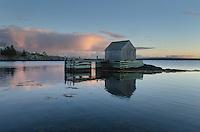 Fishermen's shack, Blue Rocks Nova Scotia