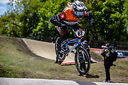 #62 (VON NIEDERHAUSERN Christa) SUI at Round 4 of the 2019 UCI BMX Supercross World Cup in Papendal, The Netherlands
