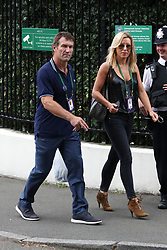 Pippa Middleton and celebrities leaving The All England Club in London after the men's finals. 16 Jul 2017 Pictured: Pat Cash. Photo credit: MEGA TheMegaAgency.com +1 888 505 6342