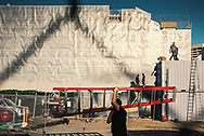 Construction site at Hayes Valley. San Francisco, California. ©CiroCoelho.com All Rights Reserved.