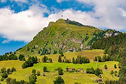 THEMENBILD - Das Kitzbueheler Horn, aufgenommen am 12. Juli 2018, Kitzbuehel, Oesterreich // The Kitzbueheler Horn at Kitzbuehel, Austria on 2018/07/12. EXPA Pictures © 2018, PhotoCredit: EXPA/ Stefan Adelsberger