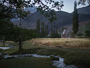 Astone (shrine) of Nasir Khusrow. Nisur village.