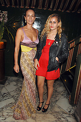 Left to right, ANDREA DELLAL and her daughter ALICE DELLAL at a dinner hosted by fashion label Issa at Annabel's, Berekely Square, London on 24th April 2007.<br /><br />NON EXCLUSIVE - WORLD RIGHTS