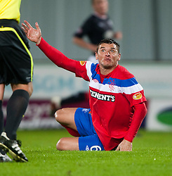 Lee McCulloch..Falkirk 3 v 2 Rangers..©Pic : Michael Schofield.