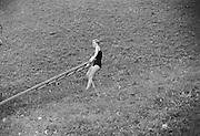 Gertraud Braun with a Wooden Ladder, Austria, 1934