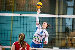 ZATKOVIĆ Eva of Slovenian national team during volleyball match between Slovenia and Austria in CEV Volleyball European Silver League 2021, on 6 of June, 2021 in Dvorana Ljudski Vrt, Maribor, Slovenia. Photo by Blaž Weindorfer / Sportida