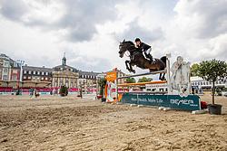 BITTER Eva (GER), ARGELITH PRIEURE<br /> Münster - Turnier der Sieger 2019<br /> Preis des EINRICHTUNGSHAUS OSTERMANN, WITTEN<br /> CSI4* - Int. Jumping competition  (1.45 m) - <br /> 1. Qualifikation Mittlere Tour<br /> Medium Tour<br /> 02. August 2019<br /> © www.sportfotos-lafrentz.de/Stefan Lafrentz