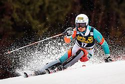 05.03.2017, Podkoren, Kranjska Gora, SLO, FIS Weltcup Ski Alpin, Kranjska Gora, Slalom, Herren, 1. Lauf, im Bild Naoki Yuasa (JPN) // Naoki Yuasa of Japan in action during his 1st run of men's Slalom of FIS ski alpine world cup at the Podkoren in Kranjska Gora, Slovenia on 2017/03/05. EXPA Pictures © 2017, PhotoCredit: EXPA/ Johann Groder