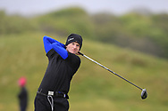Eoin Prendergast (Claremorris) the 18th tee during Round 3 of the Ulster Boys Championship at Donegal Golf Club, Murvagh, Donegal, Co Donegal on Friday 26th April 2019.<br /> Picture:  Thos Caffrey / www.golffile.ie