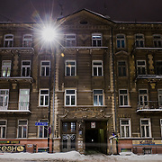 Anita moved into that flat 3 years ago the others followed latter, last to come was Mateusz 21. We knew each other before moving together. It's a nice big flat close to the centre, not very expensive and with a balcony that we sit in the spring.