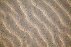 Wave pattern in the sand at Cayo Jutia; Pinar Province; Cuba,