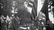 A military parade