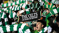 Tifosi del Celtic Glasgow  Supporters.Glasgow 12/02/2013 Celtic Park Stadium.Football Calcio Champions League Season 2012/13.Celtic Glasgow vs Juventus.Foto Insidefoto Federico Tardito