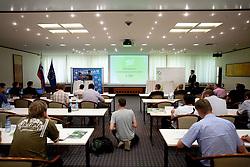 NZS and PrvaLiga event before new football season in Slovenia, on June 23, 2011, in Hotel Kokra, Brdo pri Kranju, Slovenia. (Photo by Vid Ponikvar / Sportida)