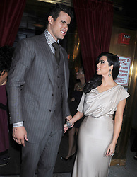 Kim Kardashian and Kris Humphries attend 'A Night of Style & Glamour' to welcome newlyweds Kim Kardashian and Kris Humphries at Capitale in New York City, NY, USA on August 31, 2011. Photo by Dennis Van Tine/ABACAPRESS.COM  Humphries Kris Kardashian Kim Kardashian Kimberly Petit-copain Petit-amie Petit-ami Petit amie Petit ami Fiancee Fiance Ehemann Husband Wife Ehefrau Epoux Epouse Femme Mari Amoureux Compagne Compagnon Companion Couple Couple Girlfriend Soiree Party New York City New York USA United States of America Vereinigte Staaten von Amerika Etats-Unis Etats Unis  | 287878_026