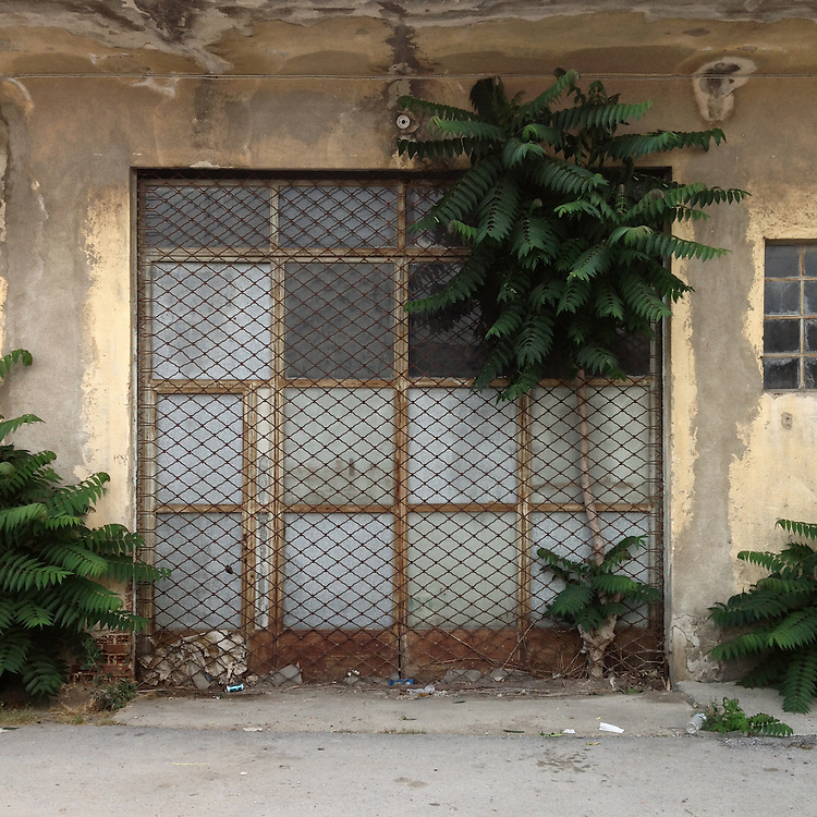 An abandoned warehouse in Roxanis Str, Thessaloniki