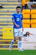 Matthew Kennedy (#33) of St Johnstone FC during the Ladbrokes Scottish Premiership match between St Johnstone FC and Rangers FC at McDiarmid Park, Perth, Scotland on 23 December 2018.