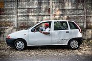 Indiano sikh per le strade di Sabaudia (Latina), Giugno 2014.  Christian Mantuano / OneShot