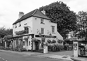 """Chiswick. Greater London. Public House """"The Black Lion"""" - Chiswick Mall and embankment  Leading from Chiswick to Fulham Reach RC. Sunday.  24.07.2016  [Mandatory Credit: Peter Spurrier/Intersport-images.com]"""