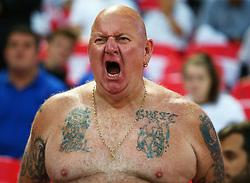 September 4, 2017 - London, England, United Kingdom - England Fans..during World Cup Qualifying - European Group F match between England  and Slovakia  at Wembley stadium, on September 4, 2017 in London, England. (Credit Image: © Kieran Galvin/NurPhoto via ZUMA Press)