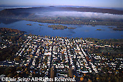 PA Landscapes, Southcentral Pennsylvania, Aerial Photographs, Millersburg, Dauphin Co., PA, Susquehanna River