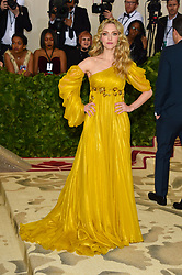 Amanda Seyfried attending the Costume Institute Benefit at The Metropolitan Museum of Art celebrating the opening of Heavenly Bodies: Fashion and the Catholic Imagination. The Metropolitan Museum of Art, New York City, New York, May 7, 2018. Photo by Lionel Hahn/ABACAPRESS.COM