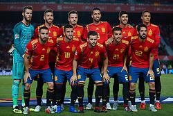 September 11, 2018 - Elche, Alicante, Spain - Spanish Team during the UEFA Nations League football match between Spain and Croatia at Martinez Valero Stadium in Elche on September 11, 2018  (Credit Image: © Sergio Lopez/NurPhoto/ZUMA Press)