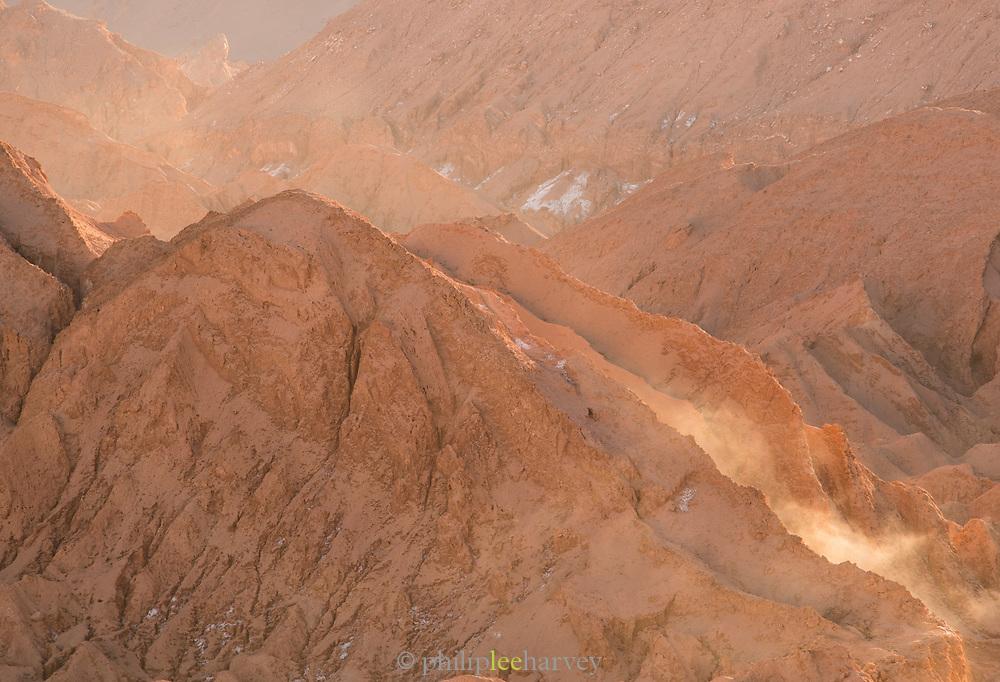 Valle de la Luna in Atacama Desert, Chile