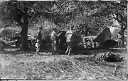 The Ghost Army That Duped The Nazis<br /> <br /> Deception and decoy are part of war strategy. During the Second World War the Allied forces employed dozens of tricks to confuse, mislead or intimidate the German army — from dropping dummy paratroppers to dropping aluminum tinfoil, from faking the death of a fictitious Major William Martin to completely covering up a military aircraft plant. One such deceptive operation that came to light only a few years ago is the so called Ghost Army.<br /> <br /> The Ghost Army was a 1,100-man unit officially known as the 23rd Headquarters Special Troops whose goals were to impersonate vastly large U.S. Army units to deceive the enemy. The men that made up this secretive unit weren't your regular soldiers. They were artists, illustrators and sound technicians handpicked for the job from New York and Philadelphia art schools. They didn't carry M1s and Thompsons, but large inflatable tanks and rubber aircrafts, powerful amplifiers and speakers to mimic the noise created by a large gathering troop and radio equipment to transmit phony messages.<br /> <br /> Photo shows; Inflating a dummy L-5 spotter plane. These would be set up on phony grass airfields to mimic the real installations that were usually close to a division headquarters.  <br /> <br /> The Ghost Army of World War II<br /> How One Top-Secret Unit Deceived the Enemy with Inflatable Tanks, Sound Effects, and Other Audacious Fakery<br /> Rick Beyer and Elizabeth Sayles<br /> Published by Princeton Architectural Press<br /> £25.00<br /> ©Exclusivepix Media