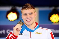 27.11.2010, Pieter van den Hoogenband Zwemstadion, Eindhoven, NED, Kurzbahn Schwimm EM, im Bild ..Dinko JUKIC Austria Gold medal men's 200m Butterfly // Eindhoven 25/11/2010 .European Short Course Swimming Championships, EXPA/ InsideFoto/ Staccioli+++++ ATTENTION - FOR AUSTRIA/AUT, SLOVENIA/SLO, SERBIA/SRB an CROATIA/CRO CLIENT ONLY +++++