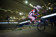 #49 (NYHAUG Tory) CAN at the UCI BMX Supercross World Cup in Manchester, UK