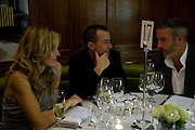 MELISSA ODABASH; JULIAN MACDONALD;, Vogue's Celebration of Fashion Dinner in association with Creme de la Mer. the Albermarle, Browns Hotel. Albermarle st. London. 18 September 2008. *** Local Caption *** -DO NOT ARCHIVE-© Copyright Photograph by Dafydd Jones. 248 Clapham Rd. London SW9 0PZ. Tel 0207 820 0771. www.dafjones.com.