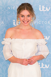 © Licensed to London News Pictures. 24/08/2017. London, UK. Actress NELL HUDSON attends the launch of the ITV series VICTORIA season 2. Jenna plays Queen Victoria in the series. Photo credit: Ray Tang/LNP