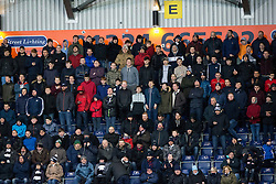 South stand, second half. Falkirk 3 v 0 Dundee United, Scottish Championship game played 11/2/2017 at The Falkirk Stadium.
