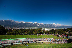 Riders during the Men's Elite Road Race a 258.5km race from Kufstein to Innsbruck 582m at the 91st UCI Road World Championships 2018 / RR / RWC / on September 30, 2018 in Innsbruck, Austria. Photo by Vid Ponikvar / Sportida