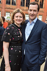 George Osborne and Frances Osborne at the Victoria & Albert Museum's Summer Party in partnership with Harrods at The V&A Museum, Exhibition Road, London, England. 20 June 2018.