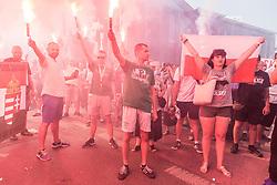 August 1, 2018 - Wroclaw, Poland - Anniversary of the Warsaw Uprising of 1944 against the German-Nazi occupation of Warsaw during World War II. (Credit Image: © Krzysztof Kaniewski via ZUMA Wire)