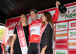 12.07.2019, Kitzbühel, AUT, Ö-Tour, Österreich Radrundfahrt, 6. Etappe, von Kitzbühel nach Kitzbüheler Horn (116,7 km), im Bild Ben Hermans (BEL, Israel Cycling Academy) im roten Flyeralarm Trikot des Gesamtsiegers der Österreich Rundfahrt // Tour of Austria winner Ben Hermans of Belgium Team Israel Cycling Academy in the red Flyeralarm overall leader jersey during 6th stage from Kitzbühel to Kitzbüheler Horn (116,7 km) of the 2019 Tour of Austria. Kitzbühel, Austria on 2019/07/12. EXPA Pictures © 2019, PhotoCredit: EXPA/ Reinhard Eisenbauer