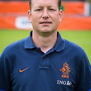 NLD/Velsen/20130701 - Selectie Nederlands Dames voetbal Elftal, inspanningsfysioloog Niels de Vries