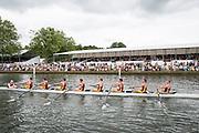 Henley Royal Regatta, Henley on Thames, Oxfordshire, 3-7 July 2013.  Wednesday  15:16:36   03/07/2013  [Mandatory Credit/Intersport Images]<br /> <br /> Rowing, Henley Reach, Henley Royal Regatta.<br /> <br /> The Princess Elizabeth Challenge Cup<br /> Monmouth School