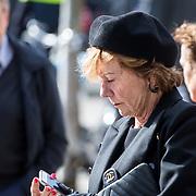 NLD/Amsterdam/20171014 - Besloten erdenkingsdienst overleden burgemeester Eberhard van der Laan, Neelie Smit Kroes