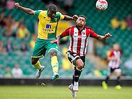 Norwich City v Brentford 010815
