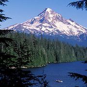 Mount Hood and Lost Lake. Oregon.