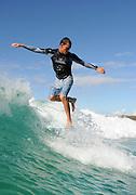April 23, 2010: Dane Pioli surfs at Snapper Rocks, Coolangatta, Gold Coast, Queensland on 23 April, 2010. Photo by Matt Roberts