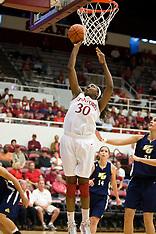20091101 - Vanguard at Stanford (NCAA Women's Basketball)